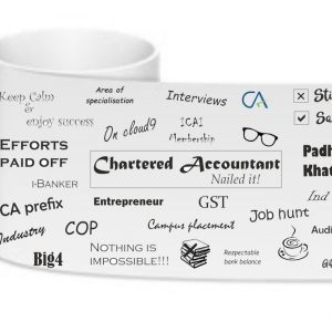 successful chartered accountant mug
